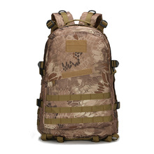 Men Women Canvas Backpack Rucksack Travel Bag Army Backpack