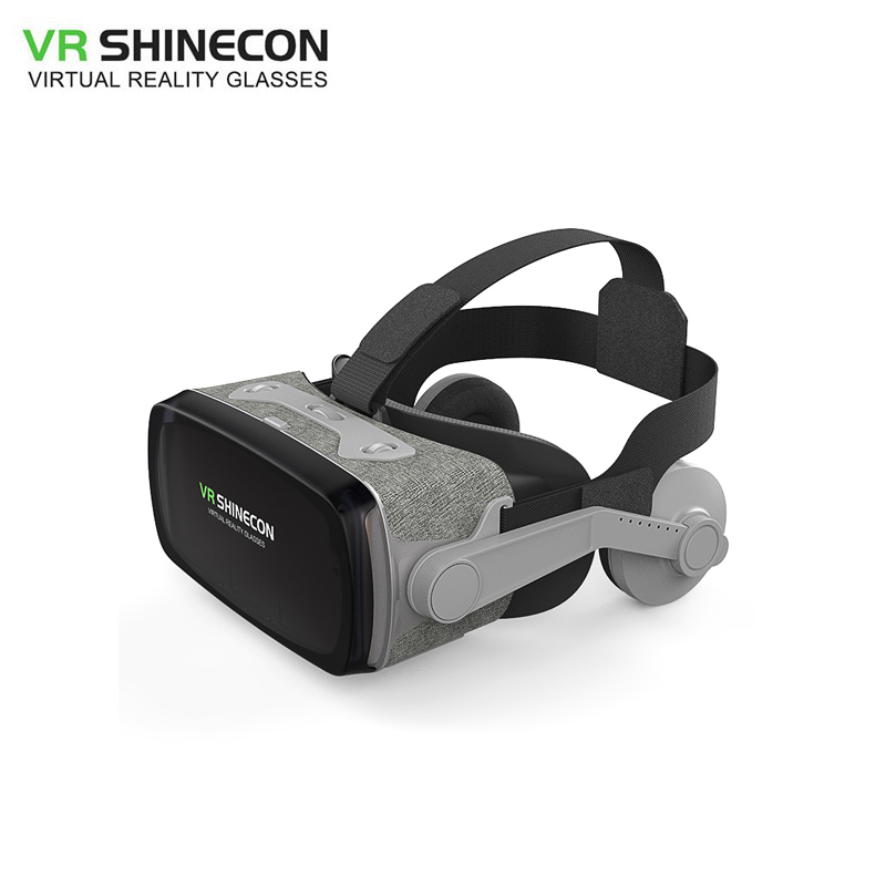 2019 Shinecon Casque 9.0 VR Virtual Reality Goggles 3D Glasses Google Cardboard VR Headset Box for 4.0 6.0 inch Smartphone|virtual reality goggles|3d virtual reality|3d virtual - title=