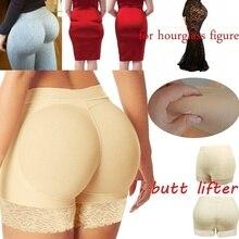 Slimming Panties Butt Lifter fake buttock lace Padded Women Shaper Panties Underwear Butt Enhancer Control panties Safety Pants