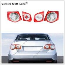 Автомобильный светодиодный задний светильник, лампа DRL для VW Jetta 5 MK5 Sendan 2006 2007 2008 2009 2010 2011, автомобильный Стайлинг, внешняя внутренняя Левая Правая сторона