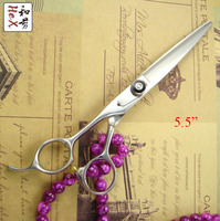 Left handed professional hair cutting scissors shears Japanese 440C 5.0 / 5.5 / 6 / 7 / 6 35T