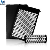 Master Smart Gear Acupressure Mat and Pillow Set for Natural Relief of Stress Pain Tension Spike Acupuncture Mat