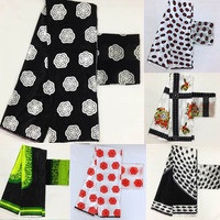 Imitated silk fabric high quality 2018 african fabric wholesale soft silk fabric for dress african print fabrics ! P61702