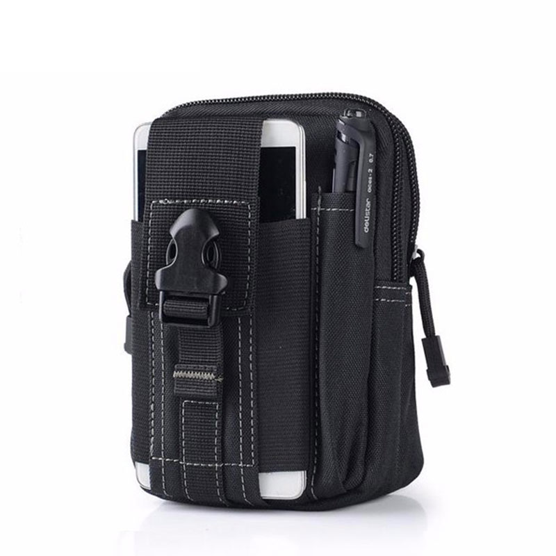 Tactical Molle Pouch Belt Waist Pack Bag Zseb Military Waist Fanny - Sporttáskák