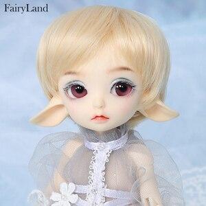 Image 1 - Fairyland Realfee Luna 19cm bjd sd doll 1/7 body model  High Quality toys  shop ShugoFairy wigs Mini doll  luodoll