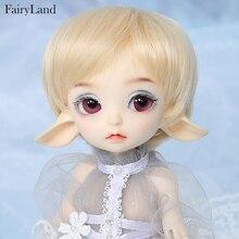 Fairyland realfee luna 19cm bjd sd boneca 1/7 corpo modelo de alta qualidade brinquedos loja shugofairy perucas mini boneca luodoll