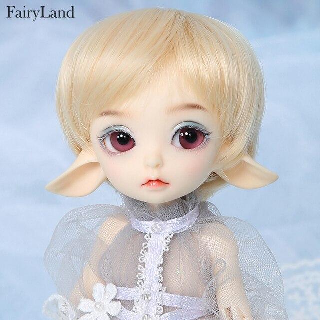 Sprookjesland Realfee Luna 19cm bjd sd pop 1/7 body model Hoge Kwaliteit speelgoed winkel ShugoFairy pruiken Mini pop luodoll
