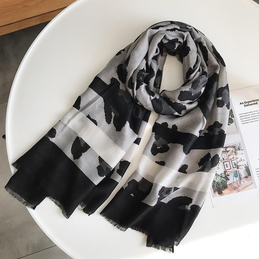 "Black Paisley Print Hijab Scarf Fashion Boho Style Shawl Wraps for Women 35/""*35/"""