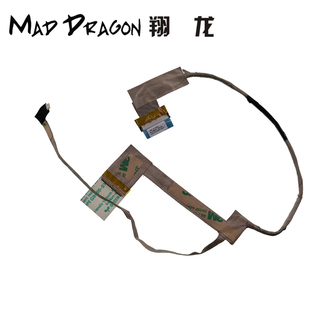 MAD DRAGON new Brand LED LCD Video Flex Cable Para For <font><b>Lenovo</b></font> <font><b>B560</b></font> V560 LA56 LCD Cable P/N 50.4JW09.001 Screen Display LCD Cable image