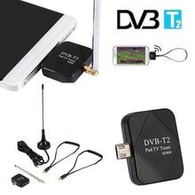 1 pc Mini Micro USB DVB-T Numérique Mobile TV Tuner Récepteur pour Android 4.1 Ci-dessus Chaude Dans Le Monde Entier