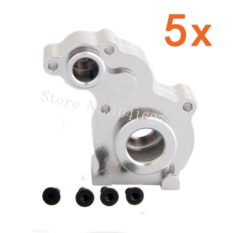 5 Sets/lot OEM Metal Axial SCX10 Aluminum Parts Center Gear Box Mount SCX-10 SCX10-13 For 1/10 Rock Crawler 1:10