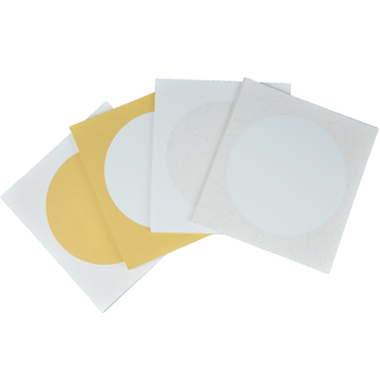 10pcs/lot Circular Blank Xuan Paper Cardboard Paper Chinese Drawing Art Xuan Zhi Calligraphy Traditional Chinese Painting Paper chinese paper card cmyk color card traditional colors rgb guide manual newbie chinese traditional distinguish colors names