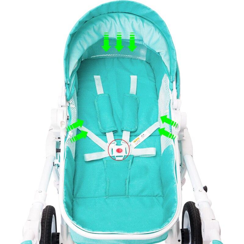 Wózek spacerowy wysoki krajobraz może siedzieć w wózku letnim i - Aktywność i sprzęt dla dzieci - Zdjęcie 4