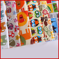 Nabi Cotton Fabric The Cloth Patchwork Fabrics By The Meter Fabric For Needlework Patchwork Accessories Cartoon