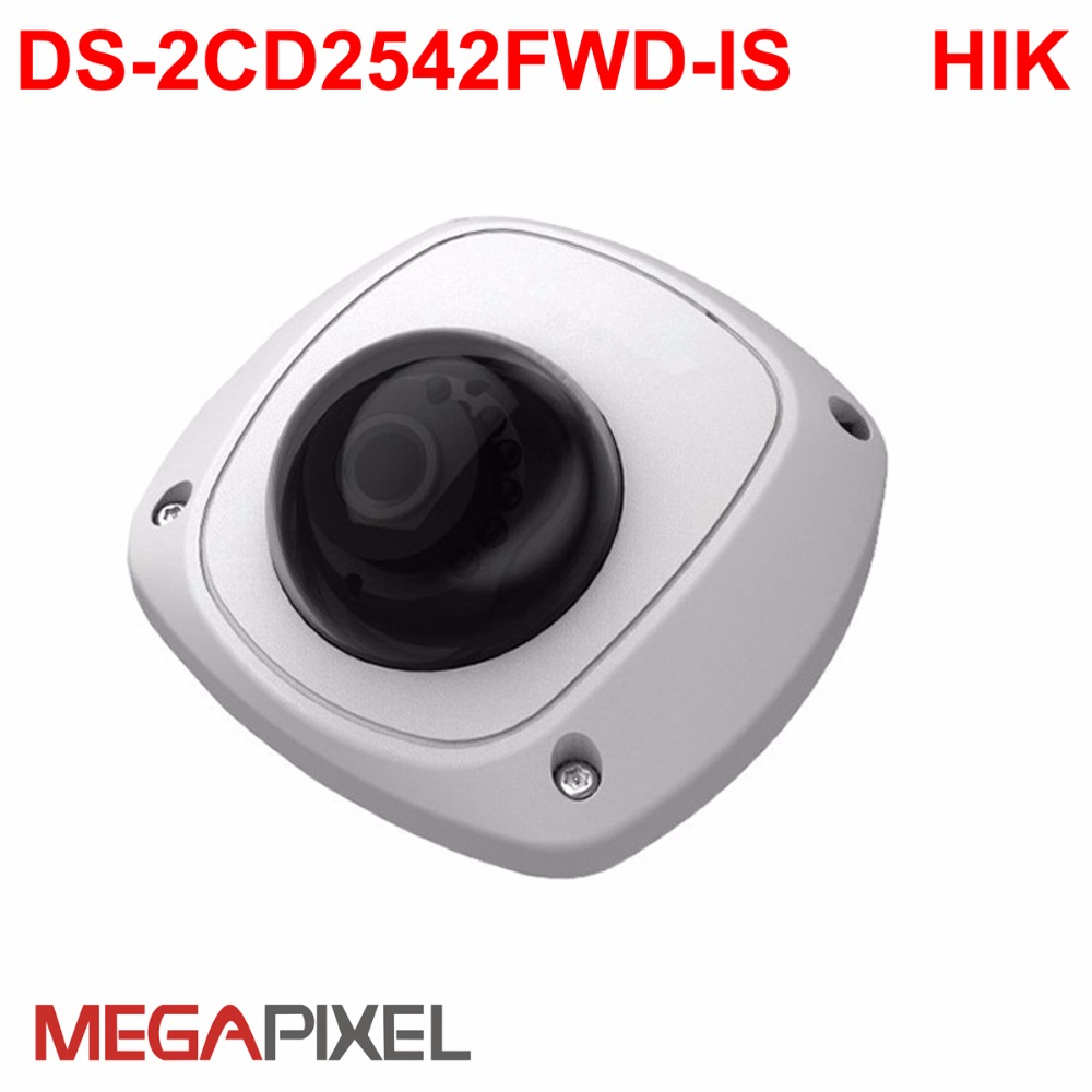 4MP WDR 120dB DS 2CD2542FWD IS 3DNR POE cctv ip camera for NVR iVMS 4500 USA