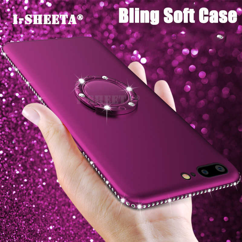 3D Diamond Silicone Case Cover for Mei Zu M6 M5S 5S M3 M5 M6 Note Charm Mei blue Note 3 5 6 Glitter Rhinestone Soft TPU Cases