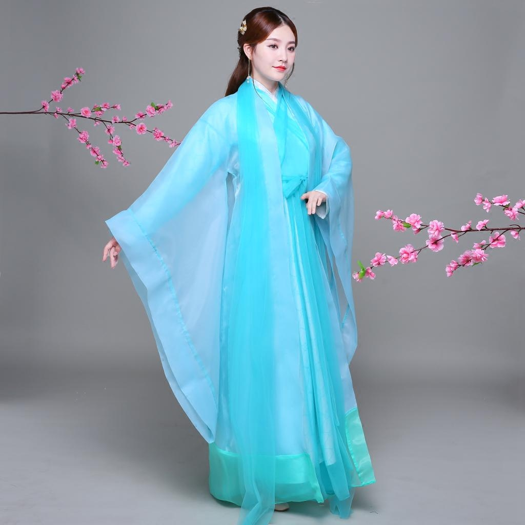 Nouvelle arrivée chinois ancien Costume Hanfu robe femmes danse folklorique Qing dynastie Tradition porter des Costumes pour les enfants