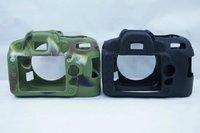 Rubber Silicon Case Cover Protector For Nikon D90 DSLR Camera Soft Housing Frame