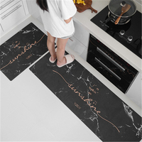 Wedding decoration Marbled Nordic kitchen MATS are non slip and household doormat