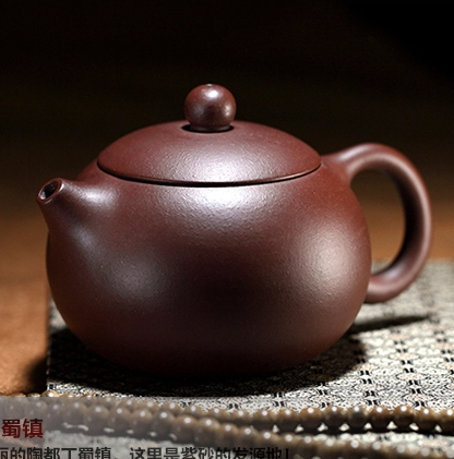 Set de thé au minerai recommandé! Théière Xishi faite main de haute qualité de Yixing 200 ml