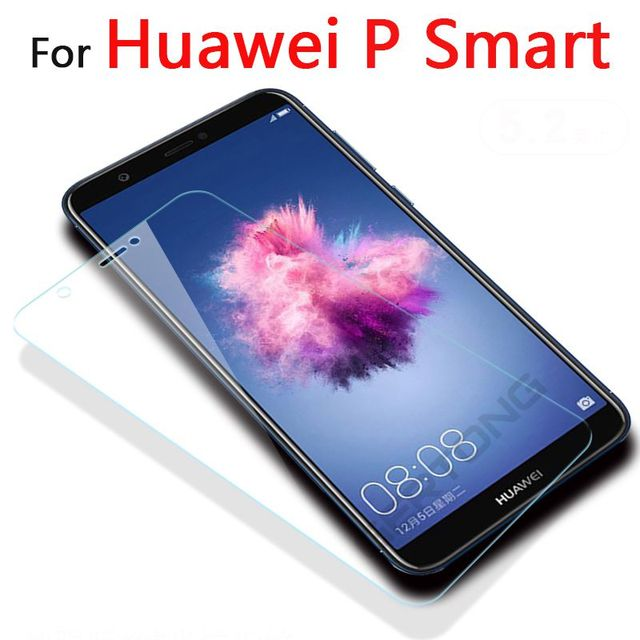 GerTong สำหรับ Huawei P สมาร์ทกระจกนิรภัยสำหรับ Huawei ENJOY 7S ป้องกันฟิล์มสำหรับ Huawei P FIG LX1 L21