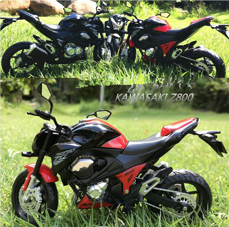 1:12 Scale Alloy Motorcycle Toys,high Simulation KAWASAKI Motorcycle Model,collection Toy Vehicle,diecast Metal,free Shipping