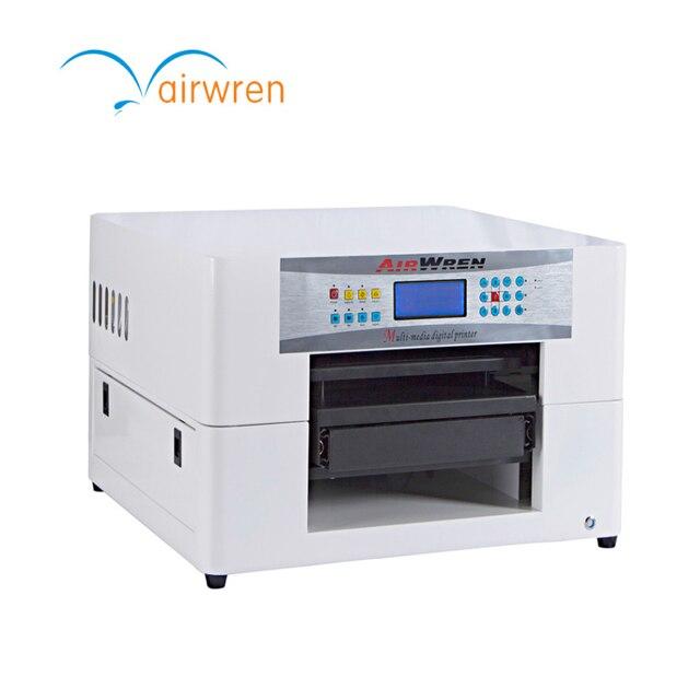 Pabrik Flatbed Printer DTG A3 T Mesin Sablon Kaos untuk Kain Sutra