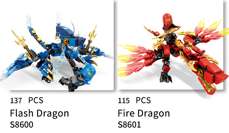 Ninjago Dragon Building Blocks 25
