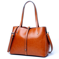 Real Cow Leather Ladies Handbags Women Genuine Leather Bags Tote Messenger Bags High Quality Designer Luxury