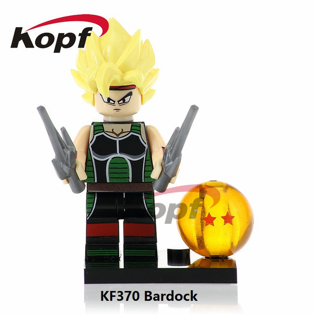 Single Sale Dragon Ball Z Figures Bardock Goku Perfect Cell Majin Buu  Master Roshi Building Blocks adaa7ebf8233