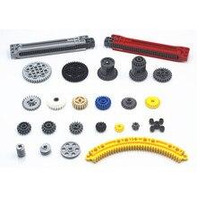 Moc técnica peças engrenagem técnica compatível com lego