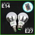 1 Шт. E27 E14 RGB LED Лампы лампы AC110V 220 В 5 Вт LED RGB Пятно света затемнения волшебный Праздник RGB освещение + ИК-Пульт Дистанционного Управления 16 цвета