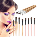 4pcs Women's Eye Shadow Brushes Female Makeup Brush Sets 2 Colors Brush Blending Pencil Kit