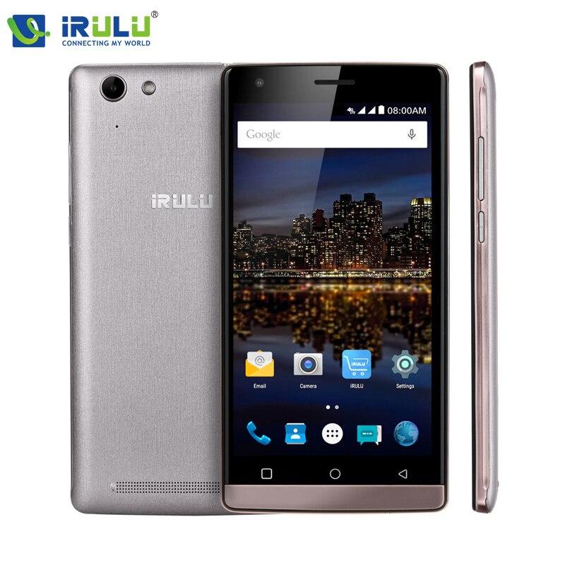 Irulu победы V4 MSM8909 четырехъядерных процессоров 5.0 дюймов 1280 * 720 HD IPS 1 ГБ оперативной памяти 8 ГБ ROM две сим-карты андроид 5.1 4 г LTE смартфон
