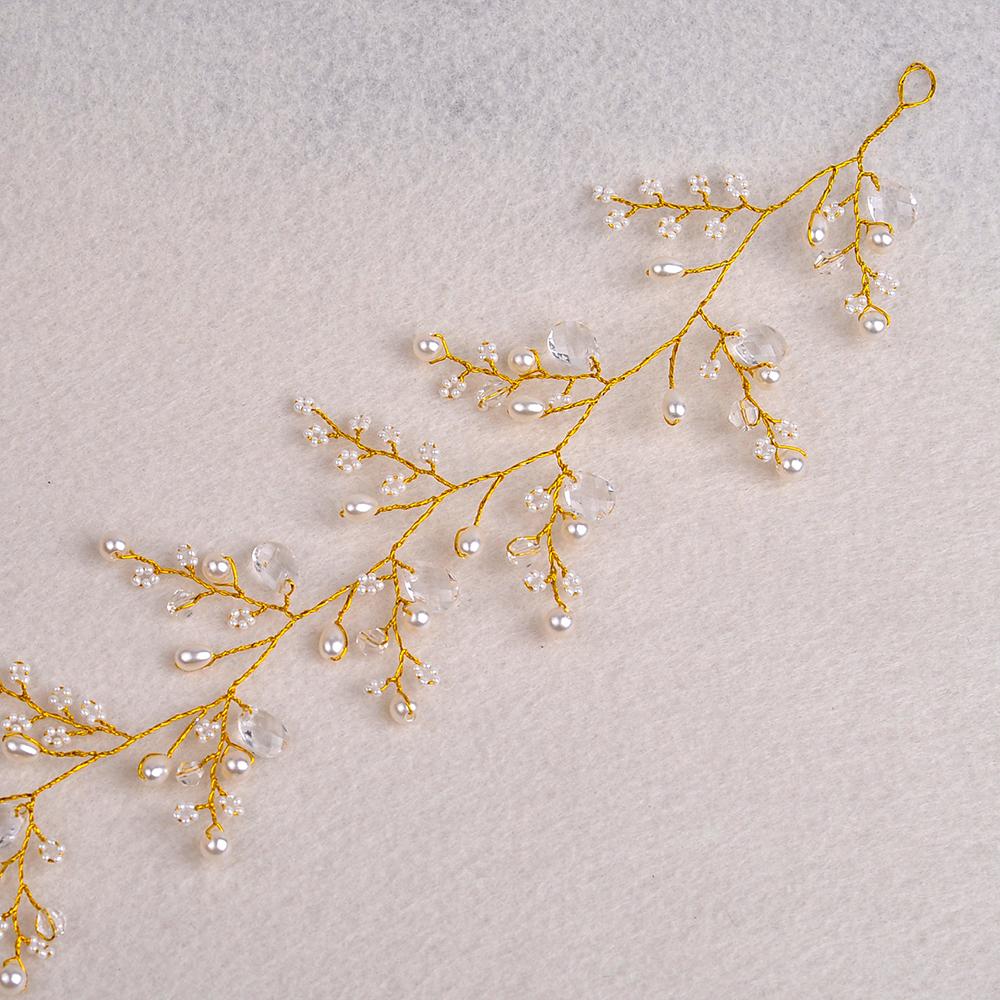HTB1gA8NQVXXXXb8XpXXq6xXFXXXx Golden Berry Flower Wedding Prom Pageant Hair Jewelry For Women