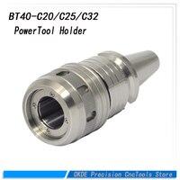 Высокая точность фрезерования скучно Chuck BT40 C20 C25 C32 питания SC Chuck прямо режущий инструмент держатель для станков с ЧПУ