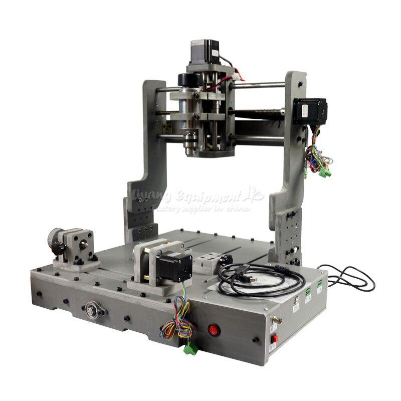 DIY Mini CNC 3040 3 Axe 4 Axe USB Port 300 w Bois Fraisage Routeur Machine