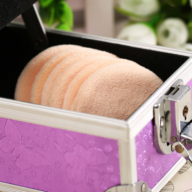 Women's Facial Powder Soft Sponges 6 pcs Set