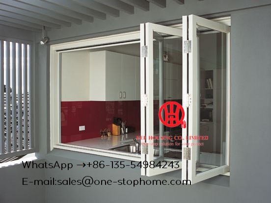 Energy Saving Insulated Aluminum Interior Glass Bi Folding Door,folding Doors For Living Room