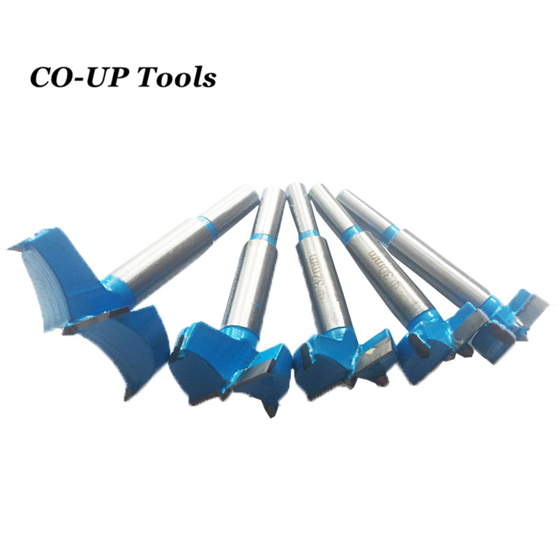 New 14-100mm Forstner Auger Drill Bits Set Woodworking Hole Saw Wooden Wood Cutter Tungsten Carbide