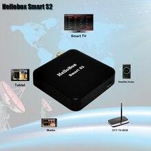 Спутниковый приемник Hellobox Smart S2, спутниковый искатель, поддержка приложений DVBPLAY, заставка/Smart TV/TV BOX/PC/Tablet Play