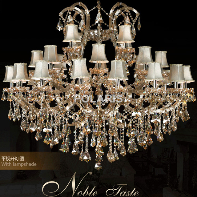 Modern Classic Maria Theresa Crystal Chandelier Lighting Luxury Hotel Restaurant Villa Cristal Chandeliers Decoration
