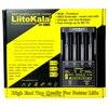 LiitoKala cargador de batería de Lii 500S para 18650, 18650, 26650, pilas AA AAA, prueba la capacidad de la batería con control táctil