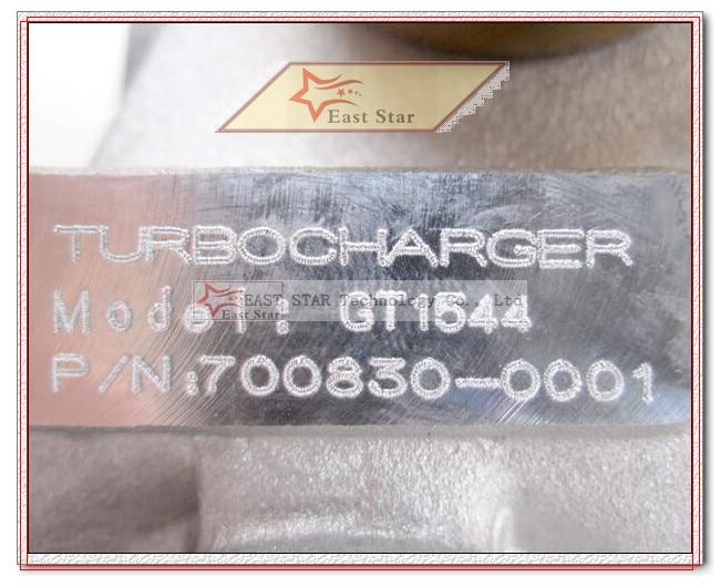 GT1544S 700830-0003 Turbocharger Renault Clio II Espace III Kangoo I Laguna I Megane I Scenic I Brava F9Q F8Q 1.9L dTi 2000-2005 (6)