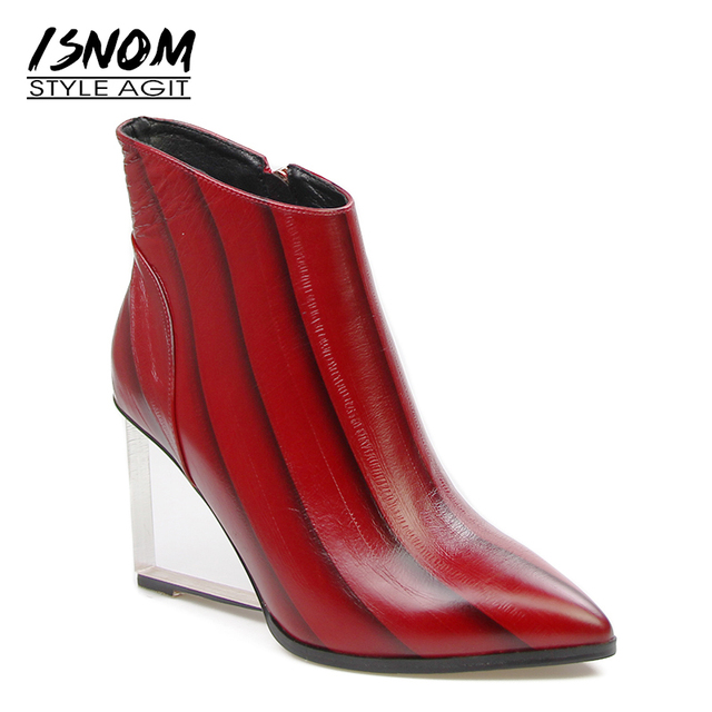 Brand Designers Crystal High Heels Quality Wedges Ankle Stiefel High Quality Heels ... 8a8f6c