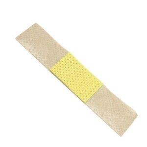 Image 4 - 100Pcs להקת סיוע פצע תחבושות סטרילי עצירת דימום מדבקות העזרה הראשונה תחבושת העקב כרית דבק טיח אקראי צבע Z37001