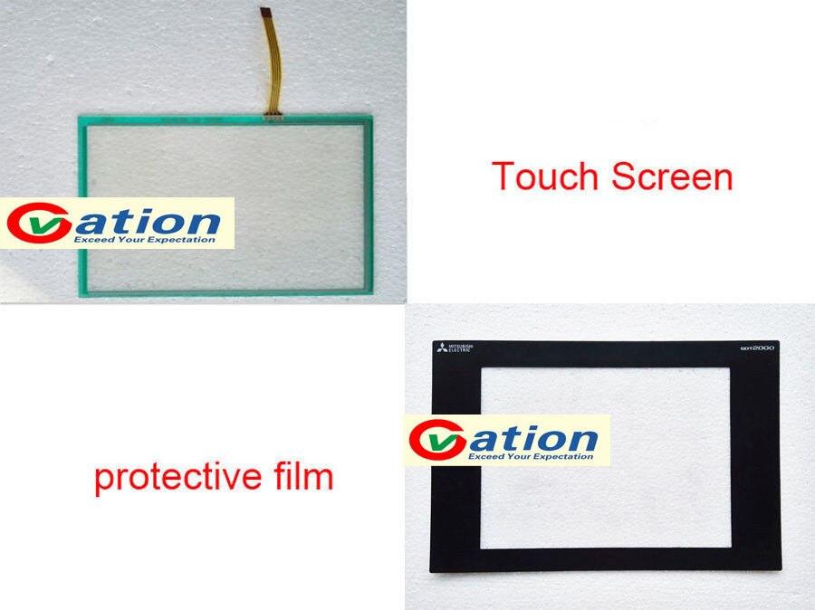For GT2310-VTBA, GT2310VTBA Touch Screen Glass + Protective FilmFor GT2310-VTBA, GT2310VTBA Touch Screen Glass + Protective Film