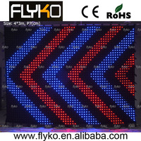 free shipping DMX LED cloth screen