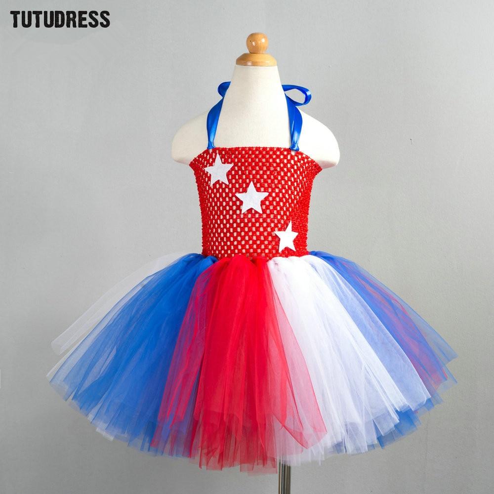 Super Hero Children Girl Tutu Dress Princess Girls Superman Cosplay Dress Baby Party Birthday Tulle Dress Kids Halloween Costume