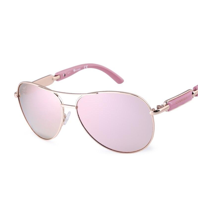 FONHCOO vintage fashion sunglasses wanita logam pria kacamata driver - Aksesori pakaian - Foto 3